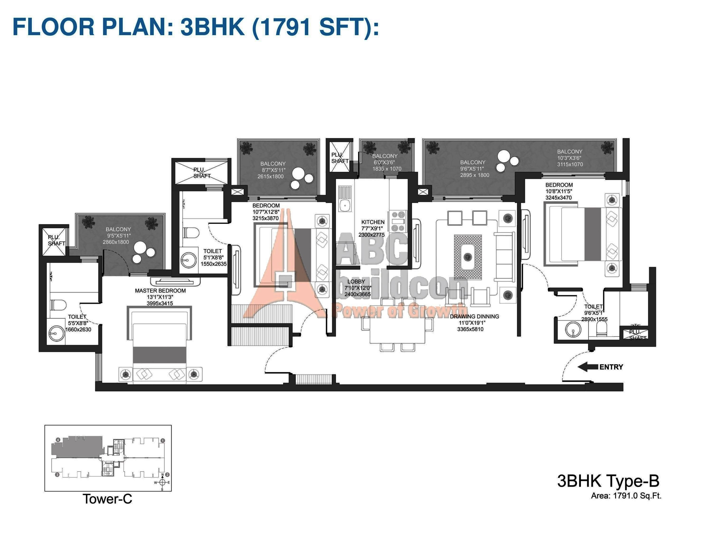 godrej oasis floor plan archives floorplan in oasis 1400 sqft