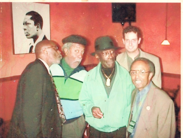 Prophet - Albert Heath, actor Lee Weaver, Prophet, pianist Jeb Patton and Jimmy Heath