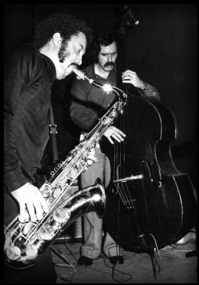 Johnny Griffin and Henk Haverhoek