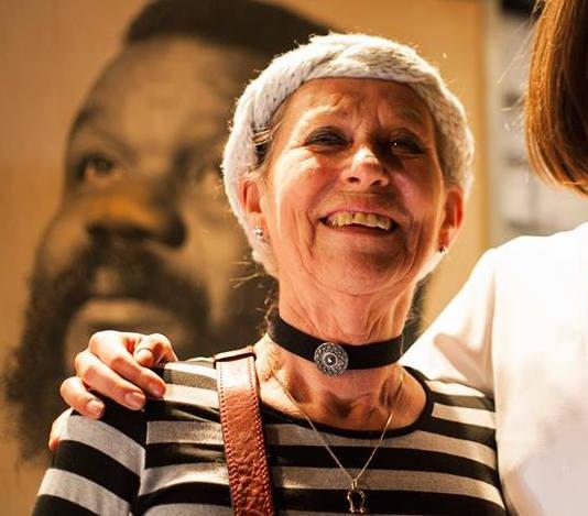 Maja Lemmen, background portrait of Porgy founder Frank Koulen
