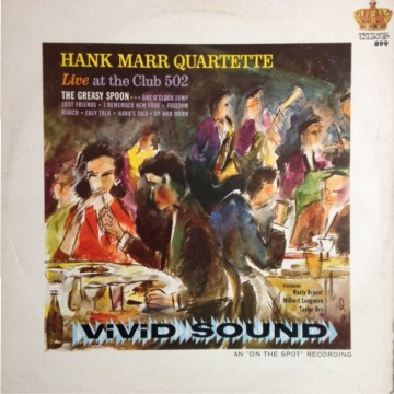 Hank Marr Quartette - Live At The Club 502