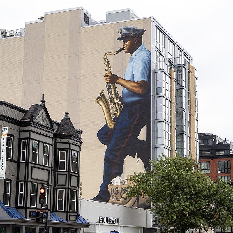 Buck Hill - Mural Washington D.C.