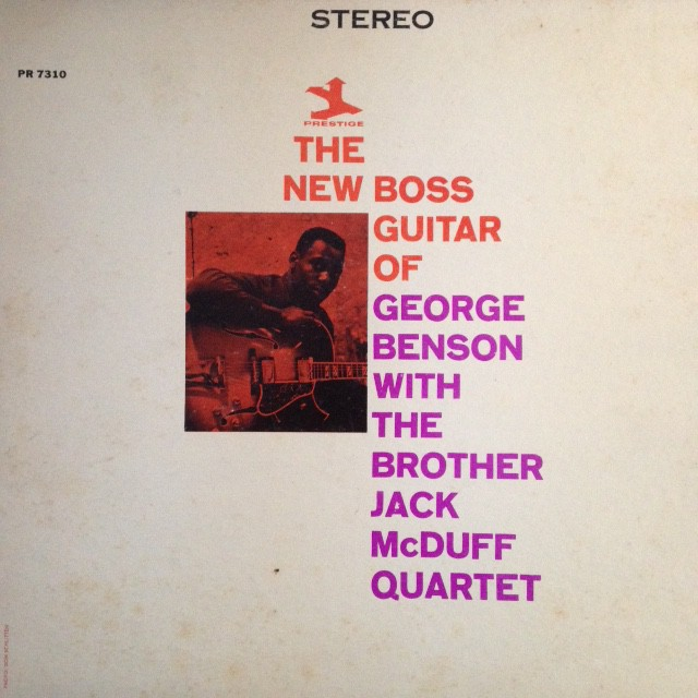 George Benson - The New Boss Guitar Of George Benson