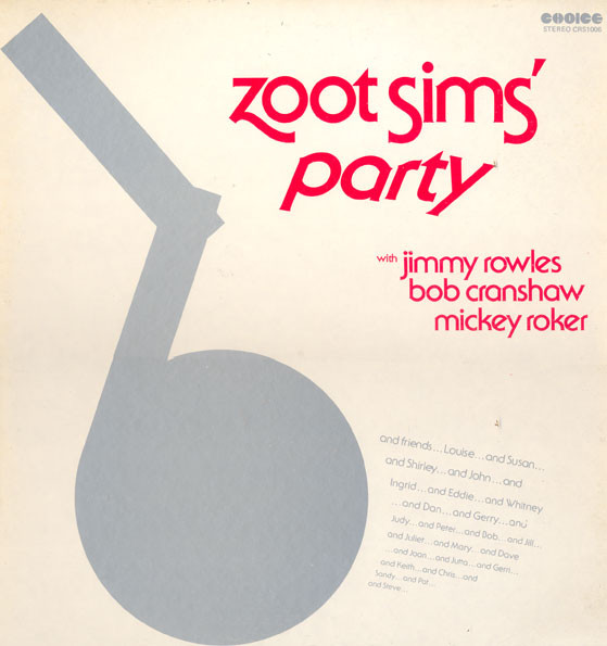 Zoot Sims - Party