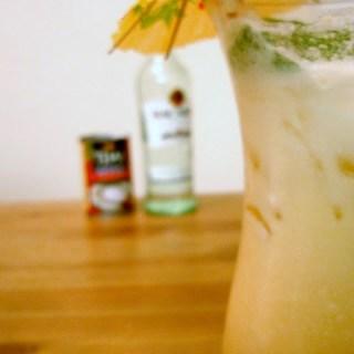 Cantaloupe Coconut Mojito