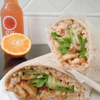 Sweet 'n' Spicy Coconut Wrap