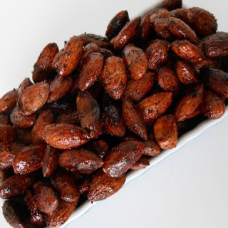 Maple Chipotle Roasted Almonds