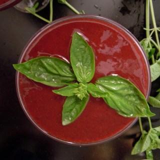 Cherry Acai Basil Margarita