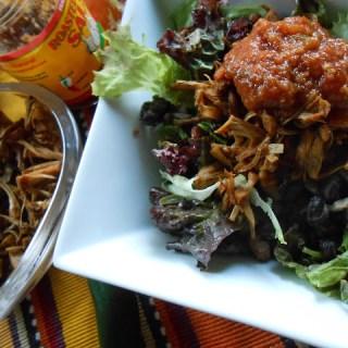 New Flora: Jackfruit + Taco Salad