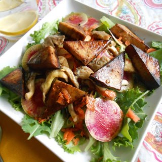 Balsamic Marinated Tofu Salad