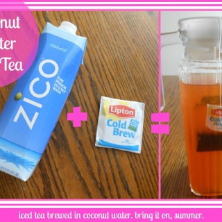 Coconut Water Iced Tea