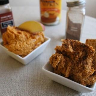Pumpkin Cashew Dip 2 Ways: Savory & Sweet
