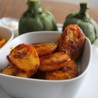 Sweet & Spicy Sauteed Plantains