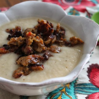 Truffled Cauliflower Soup