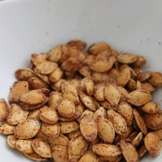 Savory Roasted Pumpkin Seeds