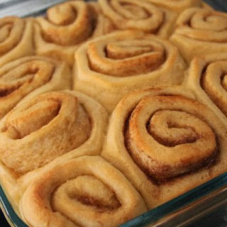 World's Easiest Cinnamon Rolls