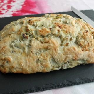 Artichoke & Roasted Garlic Bread
