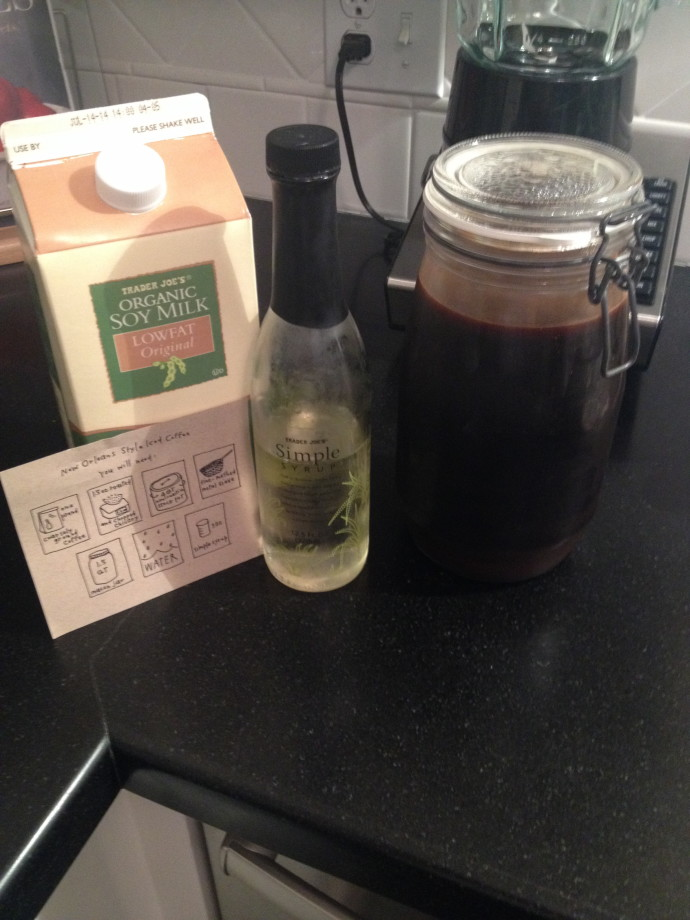 chicory cold brew coffee