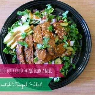 Ginger-Soy Marinated Tempeh Salad