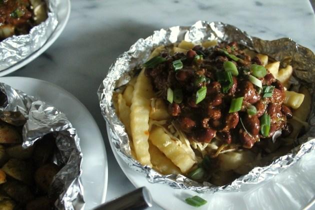 BBQ Chilli Cheese Fries