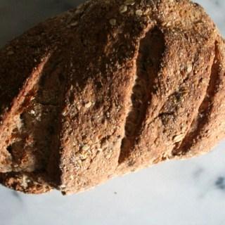 Hearty Oat + Flax Bread