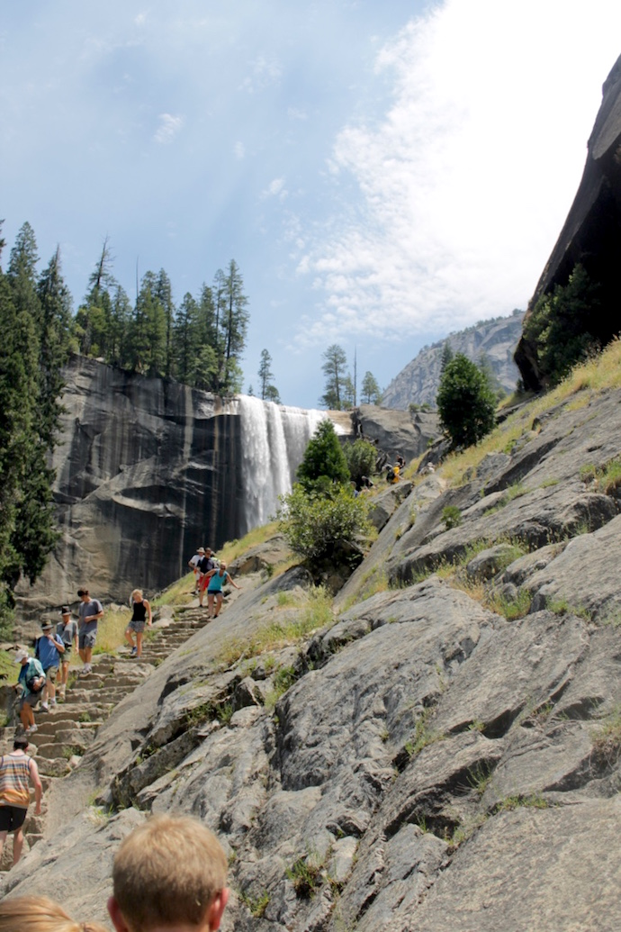 Mist Trail to Vernal Falls