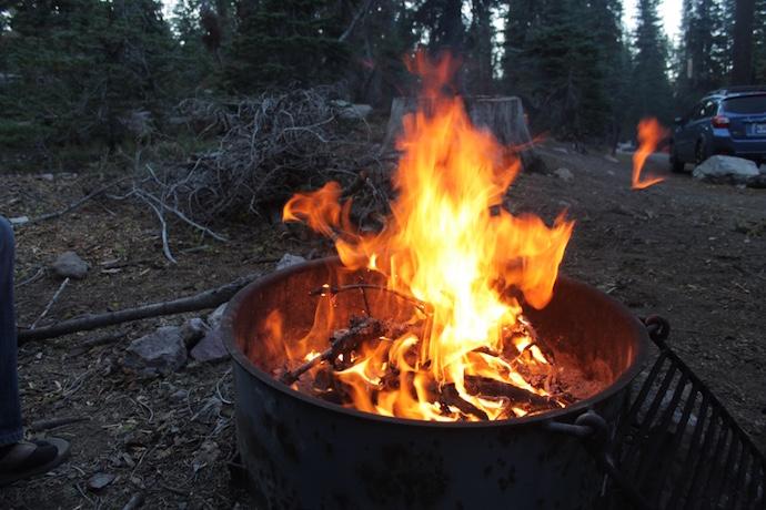 lassen fire
