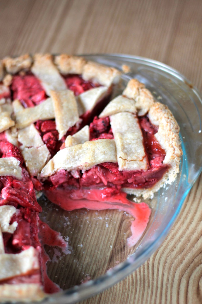 20 minute strawberry pie