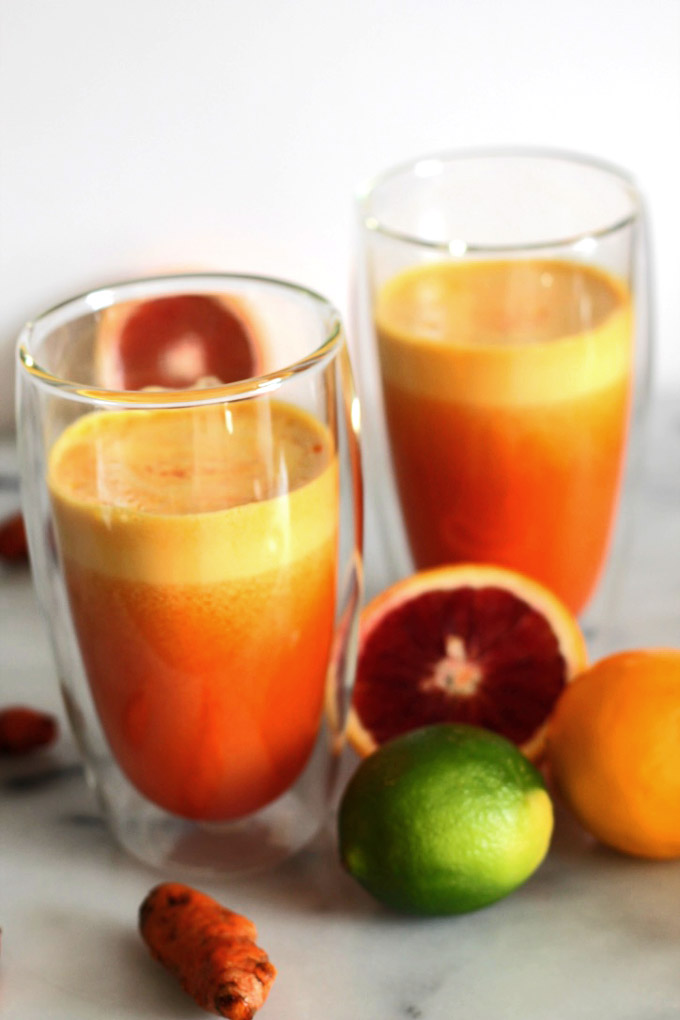 golden beet turmeric juice