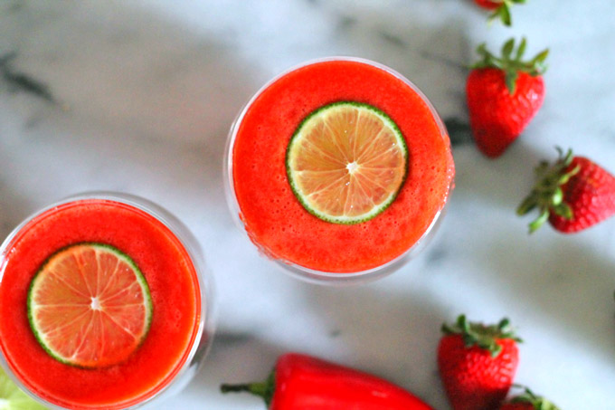 strawberry lime juice