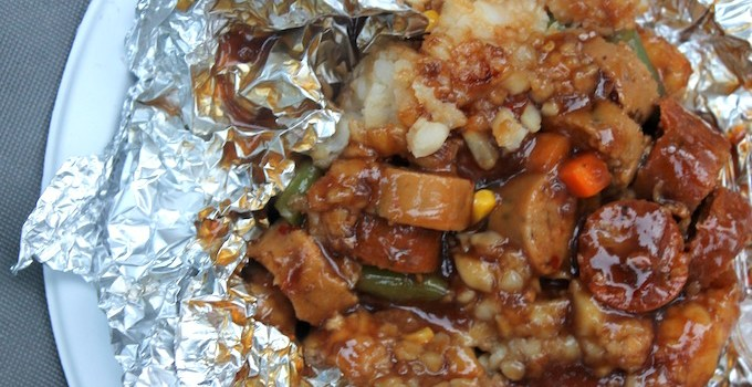 Hobo Stew {Easy BBQ/Campfire Meal}
