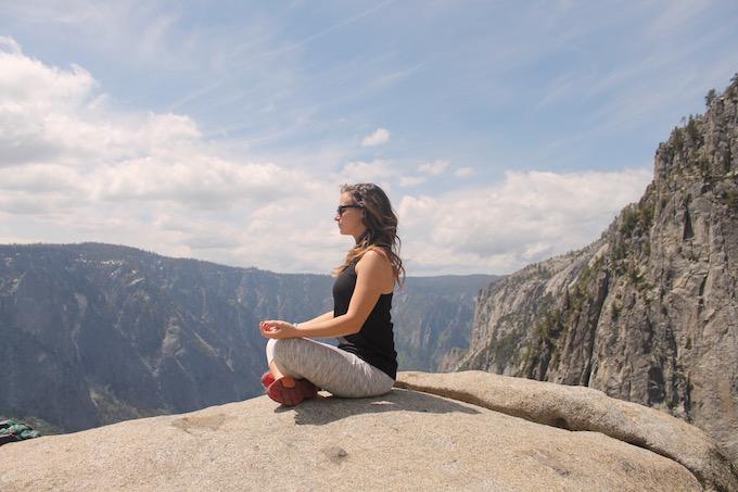 meditate yosemite