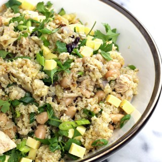 Bean and Quinoa Salad