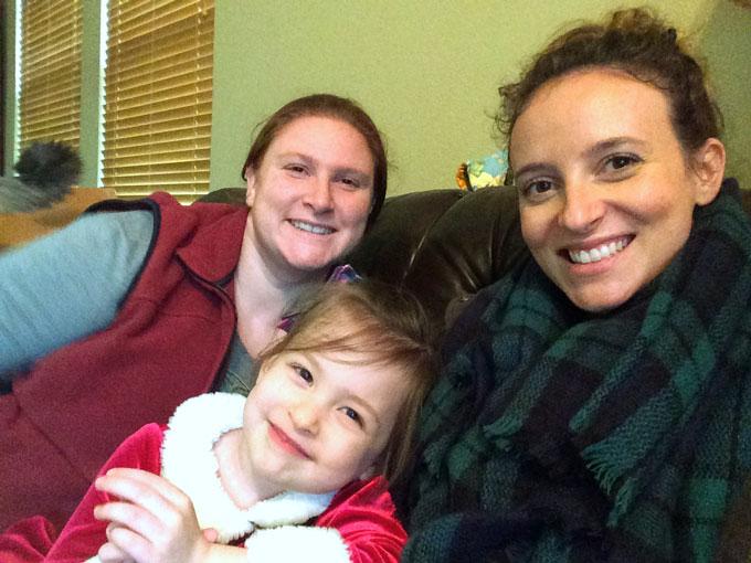 me + Celia + Molly