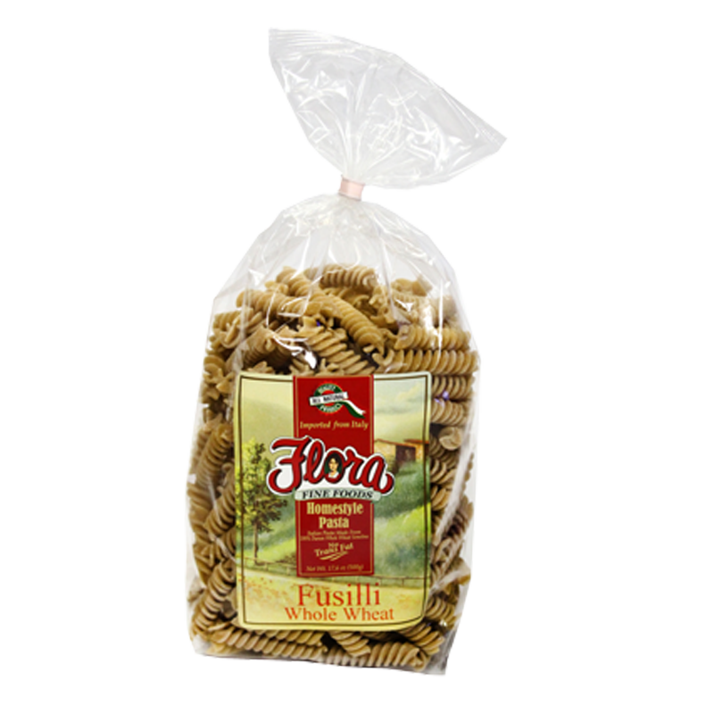 Whole Wheat Fusilli Integrale Homestyle Pasta