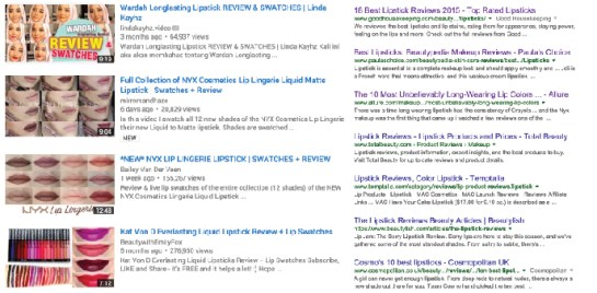 youtube & google sample
