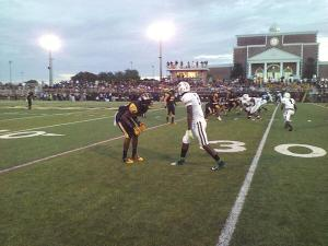 Miami Central took down American Heritage (Plantation) on Friday night with a 42-20 win. (Photo by Nash Williams)