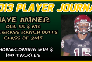 PLAYER JOURNAL: Wiregrass Ranch, Jaye Miner – A Homecoming Win & 100 Tackles