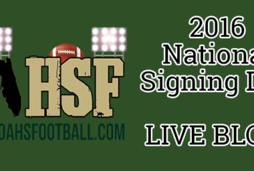 LIVE BLOG: National Signing Day 2016