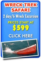Wreck Treck Safari Excursion