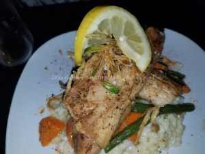Striped bass was very good, too.