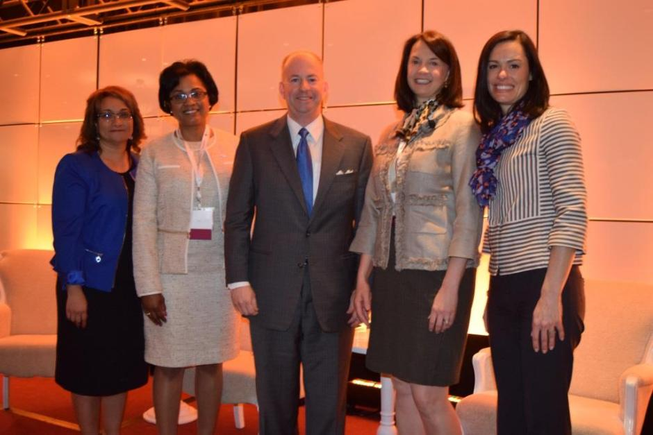 Lila Jaber, Gayle Lanier, Senator George LeMieux, Kimberly Greene, Robin Boren