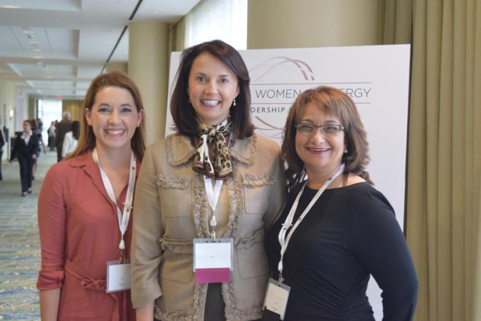 Holly Henderson (Gulf Power), Kimberly Greene (EVP, Southern Company), Lila Jaber (Gunster)