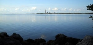 Turkey Point nuclear plant is close to at Biscayne National Park