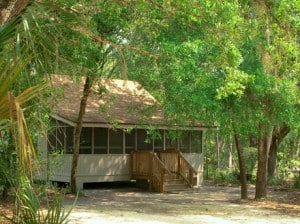 Cabins at Blue Springs State Park, Florida