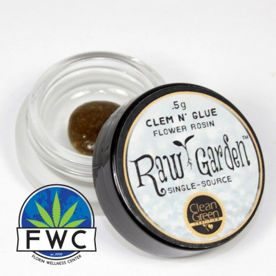 Raw Garden Clem N Glue Rosin