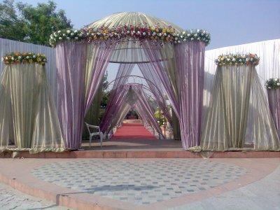 main-gate-decoration | Florist Ahmedabad - Flower ...