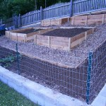 Built Family Garden with Raised Beds
