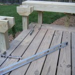 DIY Pine Deck Bench Project