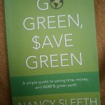 Congrats to Go Green, Save Green Book Winner